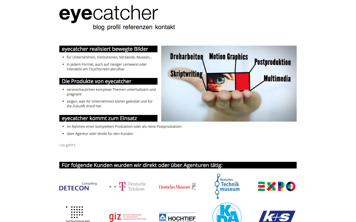 Webdesign Köln | eye-catcher.de